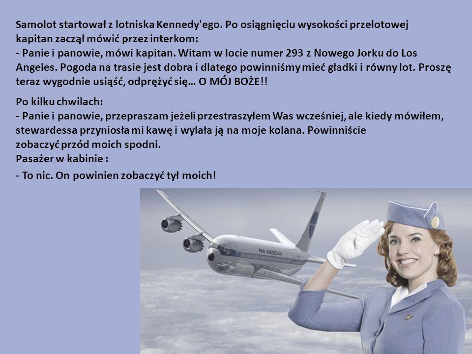 Samolot startował z lotniska Kennedy ego.