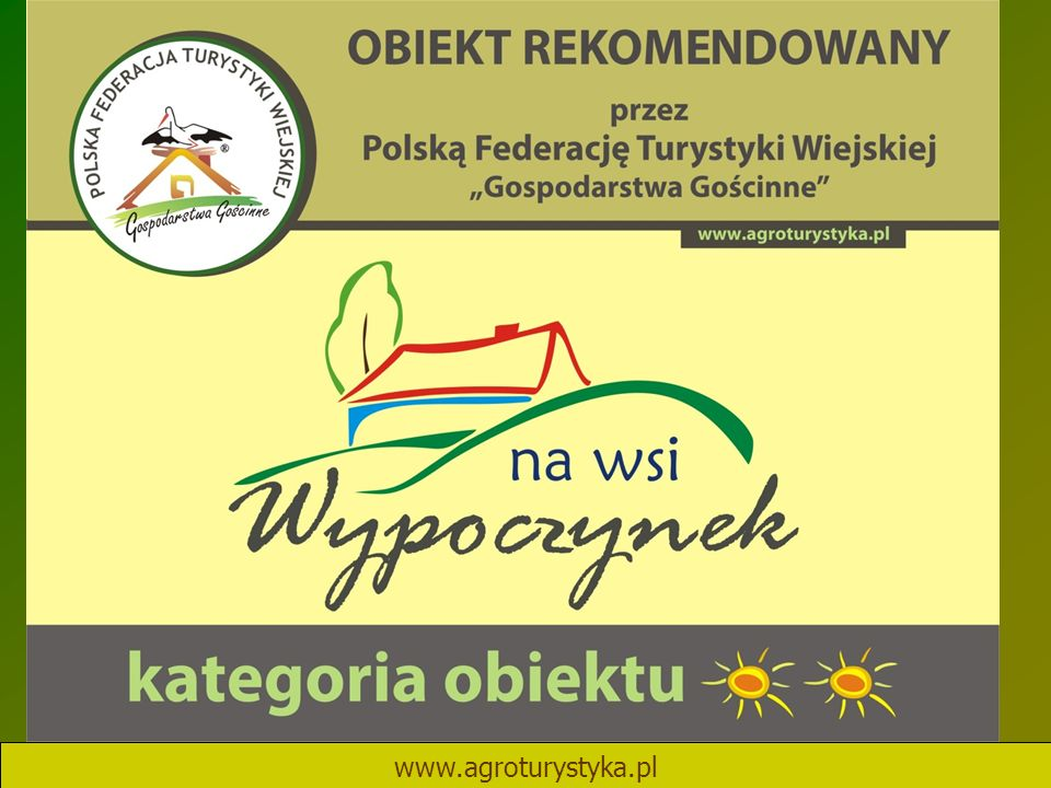 www.agroturystyka.pl