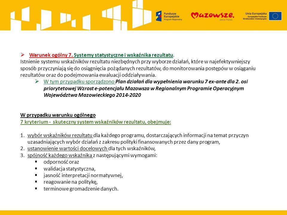 Nr warunku Nazwa warunku Planowane działania Termin realizacji (rrrr/mm/dd) Stan spełnienia działania Realizacja nastąpi w terminie (Tak/Nie/ND) Uzasadnienie/dodatkowe informacje Nowy termin 7.1, 7.2 Transport Decyzja dotycząca organizacji prac nad PW 2014-12-31SPEŁNIONETAKBrak opóźnieńNIE 7.1, 7.2 Transport Zebranie i analiza materiałów wejściowych oraz określenie zakresu niezbędnych do wykonania prac 2015-03-31SPEŁNIONETAKBrak opóźnieńNIE 7.1, 7.2 Transport Uzgodnienie zakresu i stopnia szczegółowości informacji wymaganych w prognozie oddziaływania na środowisko dla projektu planu wykonawczego do SRWM do 2030 r.
