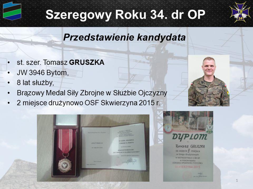 Szeregowy Roku 34.