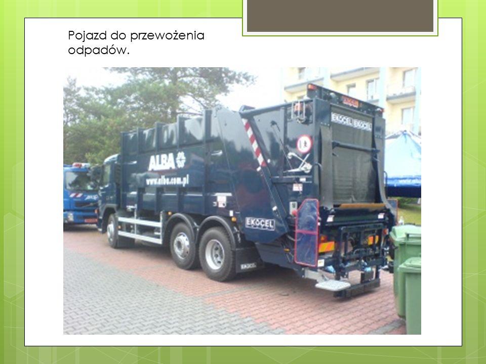 Odpady segregowane 1.Wszystko co wrzucimy do kosza publicznego, lub domowego trafia do zakładu utylizacji odpadów, poprzez przewóz specjalnym samochod