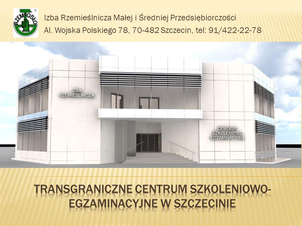 Izba Rzemieślnicza Małej i Średniej Przedsiębiorczości Al. Wojska Polskiego 78, 70-482 Szczecin, tel: 91/422-22-78