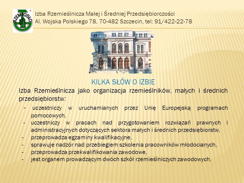 Izba Rzemieślnicza Małej i Średniej Przedsiębiorczości Al.