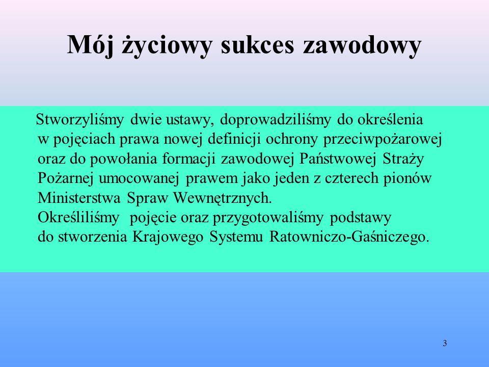 Mój życiowy sukces zawodowy Obecnie członkowie Dolnośląskiego Zespołu Projektowego pozostają bardzo oszczędni w wypowiedziach w tej sprawie.