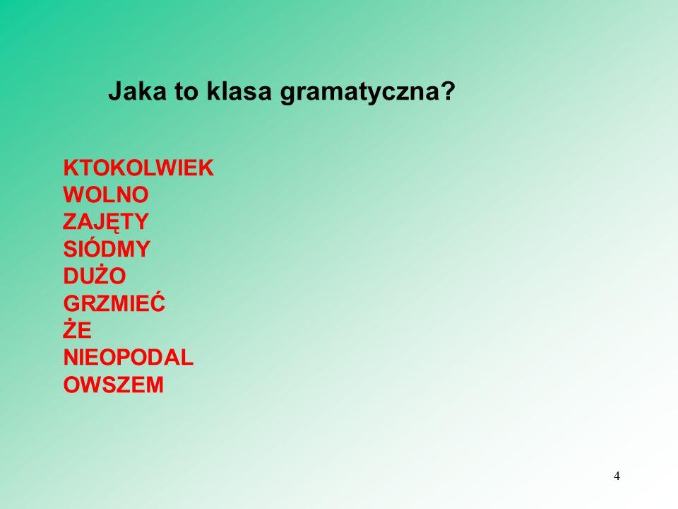 5 Idiosynkrazje Marek Świdziński, Magdalena Derwojedowa Idiosynkrazja na przecięciu idiosynkrazyj, czyli o poprzyimkowości i liczebnikach Studia z gramatyki i semantyki języka polskiego.