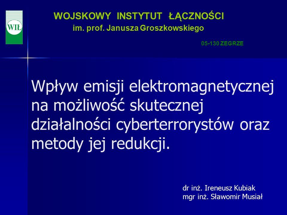 12 WOJSKOWY INSTYTUT ŁĄCZNOŚCI im.prof.