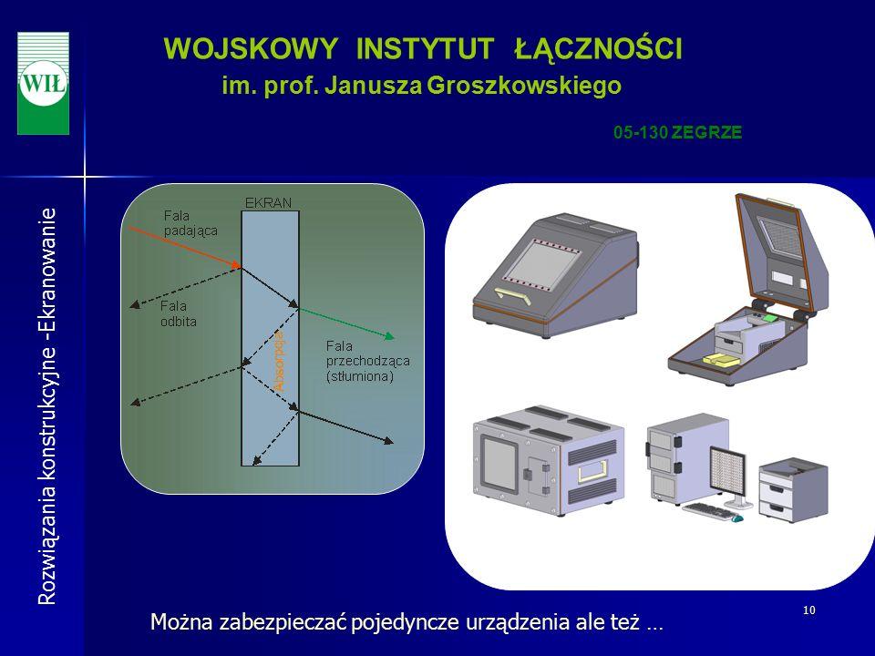 10 WOJSKOWY INSTYTUT ŁĄCZNOŚCI im. prof.
