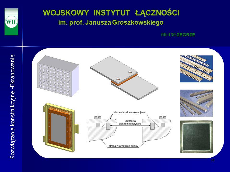 13 WOJSKOWY INSTYTUT ŁĄCZNOŚCI im. prof.