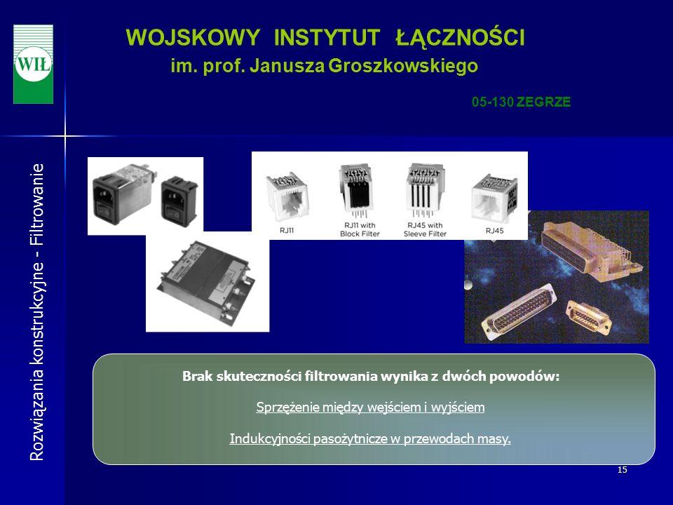 15 WOJSKOWY INSTYTUT ŁĄCZNOŚCI im. prof.