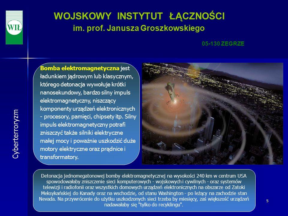 6 WOJSKOWY INSTYTUT ŁĄCZNOŚCI im.prof.