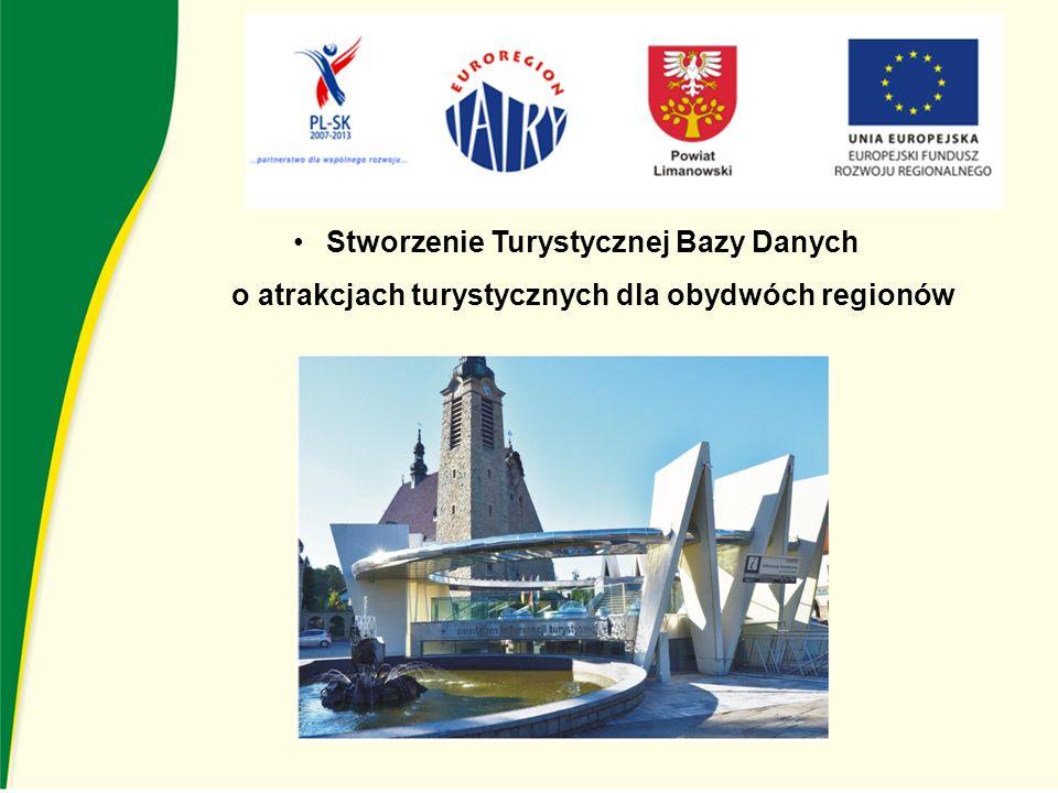 Stworzenie Turystycznej Bazy Danych o atrakcjach turystycznych dla obydwóch regionów