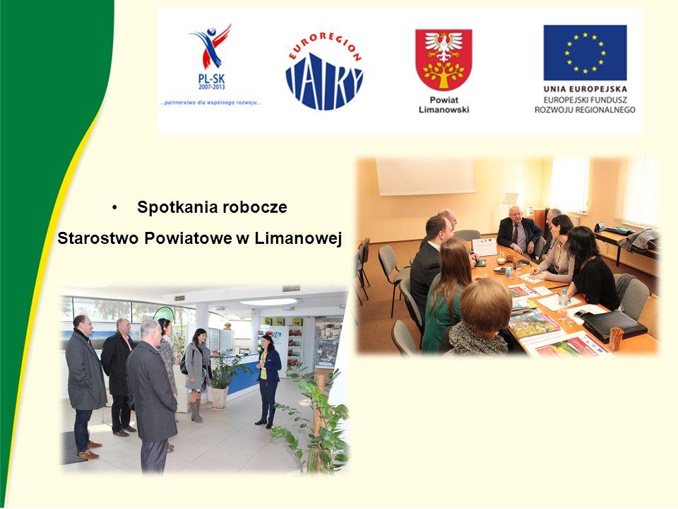 Spotkania robocze Starostwo Powiatowe w Limanowej
