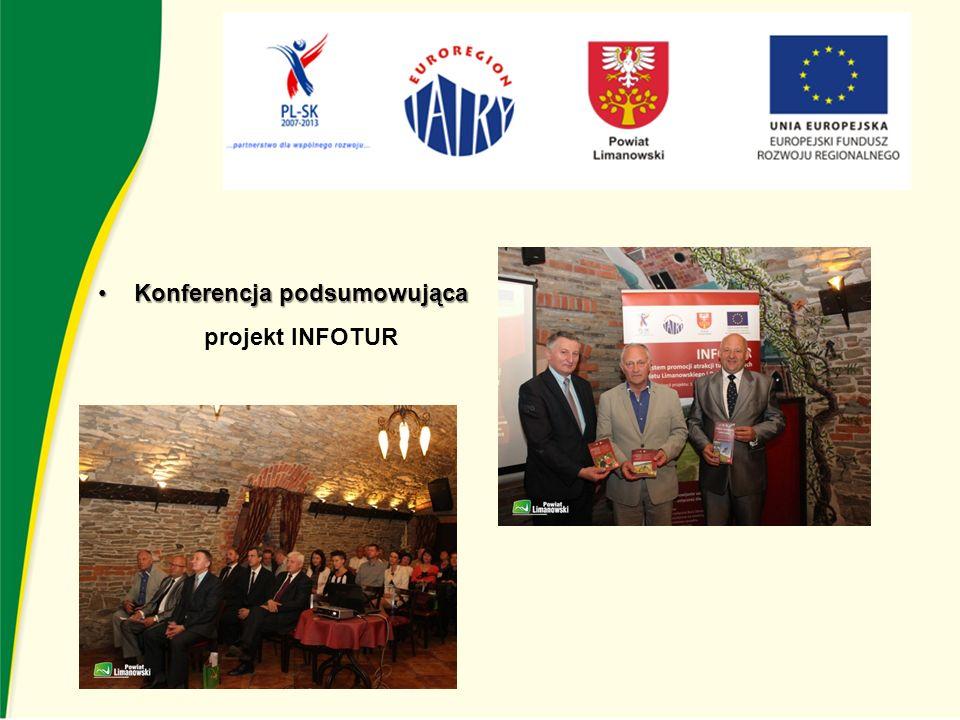 Konferencja podsumowującaKonferencja podsumowująca projekt INFOTUR
