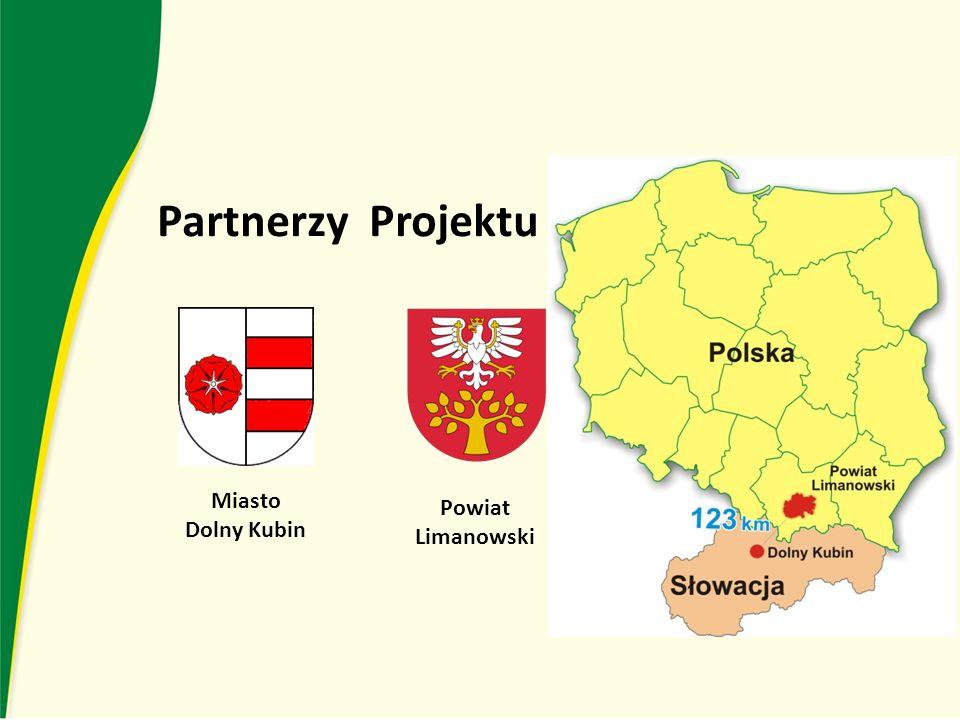 Partnerzy Projektu Miasto Dolny Kubin Powiat Limanowski