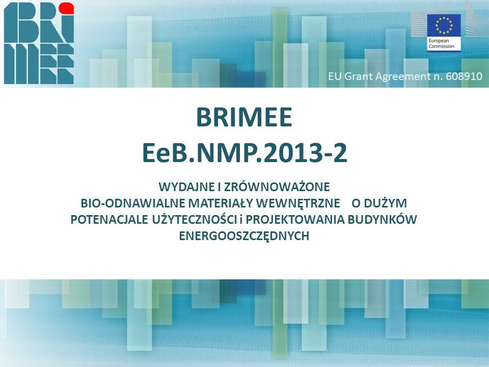 Projekt BRIMEE uzyskał współfinansowanie ze środków siódmego programu ramowego Wspólnoty Europejskiej na podstawie umowy w sprawie przyznania grantu nr 608910 Celem projektu jest opracowanie nowej generacji materiałów izolacyjnych, poprawiających wydajność energetyczną budynków bez emitowania szkodliwych substancji, zachowujących się jednocześnie jak pochłaniacze wewnętrznych zanieczyszczeń BRIMEE Project