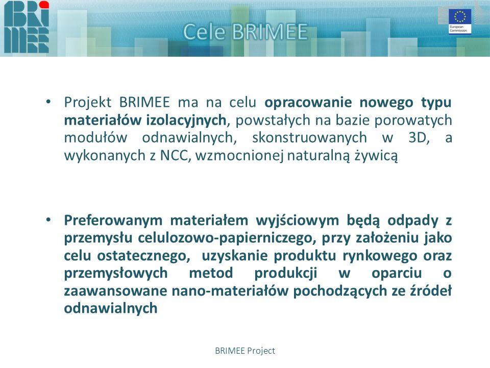 Kluczowe zalety Produktu/Programu BRIMEE mogą być zostać podsumowane następująco:  Całkowite wyeliminowanie środków porotwórczych/niebezpiecznych rozpuszczalników podczas produkcji  Użycie materiałów odnawialnych  Funkcjonalizacja poprzez związek pochodzenia naturalnego, zdolny do wychwytywania elementów zanieczyszczających  Proces niskotemperaturowy realizowany w układzie zamkniętym przy udziale wody przy ciągłej wymianie kwasu  Sklasyfikowane właściwości, pozwalające na idealne dopasowanie mechanicznych, termicznych i chemicznych rozwiązań materiałowych do wymaganych zastosowań BRIMEE Project