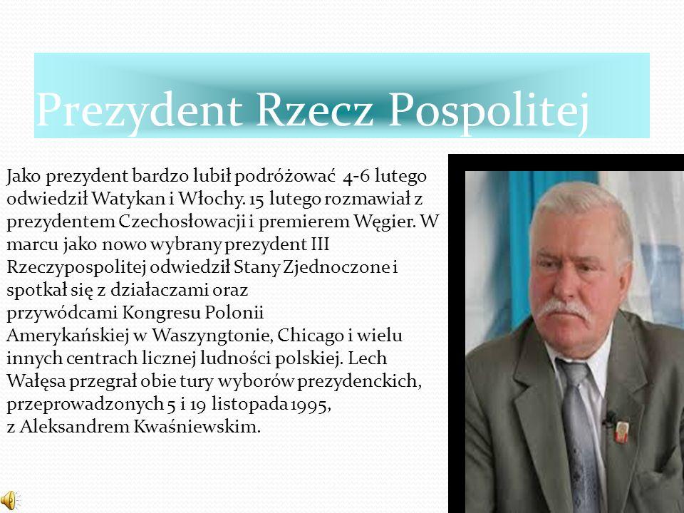 Noblista Lech Wałęsa w roku 1983 otrzymał Pokojową Nagrodę Nobla której nie mógł odebrać osobiście ponieważ władze odmawiały wydania paszportu lecz to mu w tym nie przeszkodziło i jego żona Danuta Wałęsa odebrała ten tytuł.