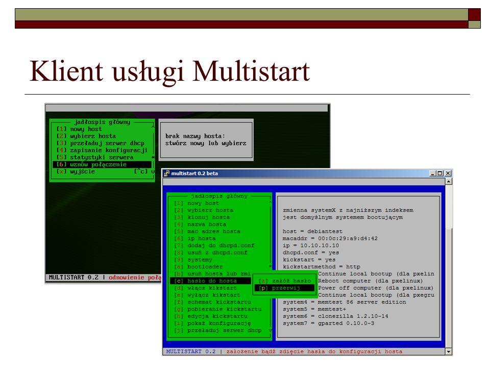 Klient usługi Multistart