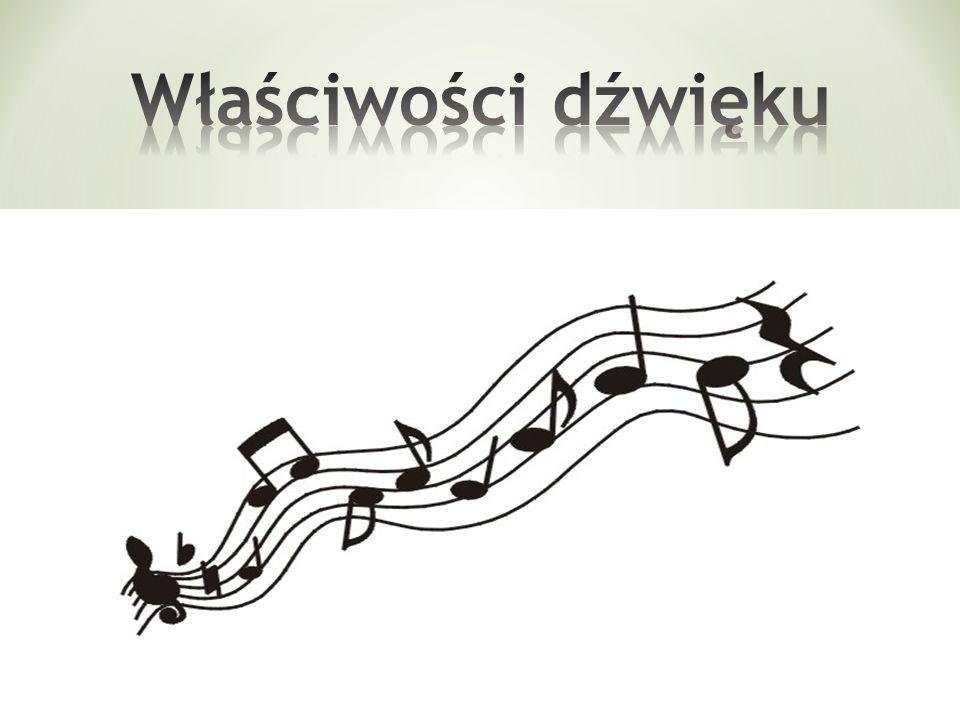 Dźwięk – wrażenie słuchowe, spowodowane falą akustyczną rozchodzącą się w ośrodku sprężystym (ciele stałym, cieczy,gazie).