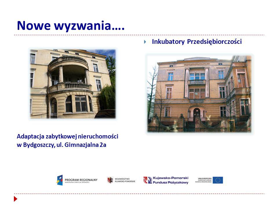 Nowe wyzwania…. Adaptacja zabytkowej nieruchomości w Bydgoszczy, ul.
