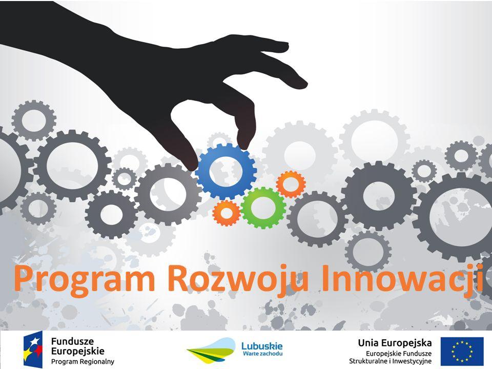  Nowe podejście do polityki innowacyjnej, opartej na identyfikacji inteligentnych specjalizacji regionu  Kontynuacja dotychczasowej Regionalnej Strategii Innowacji  Wypełnia warunek wstępny dla Celu Tematycznego 1 Europejskiego Funduszu Rozwoju Regionalnego w okresie 2014-2020 Program Rozwoju Innowacji