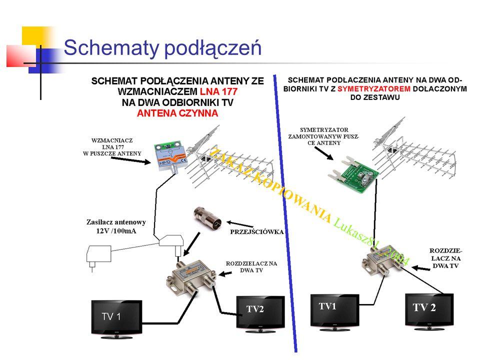Schematy podłączeń