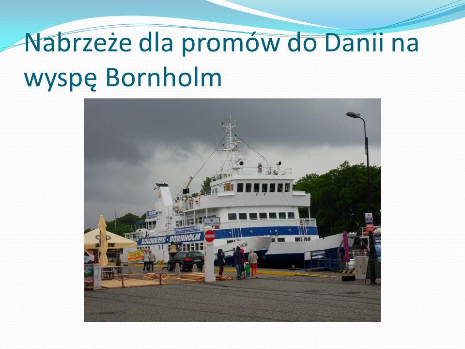 Nabrzeże dla promów do Danii na wyspę Bornholm
