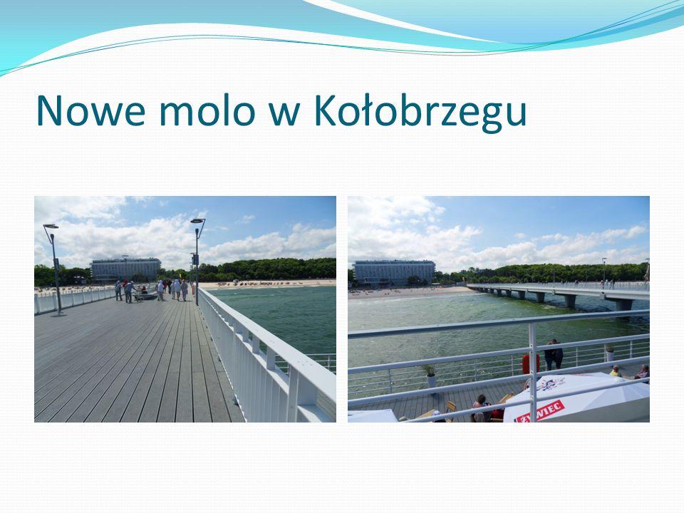 Nowe molo w Kołobrzegu