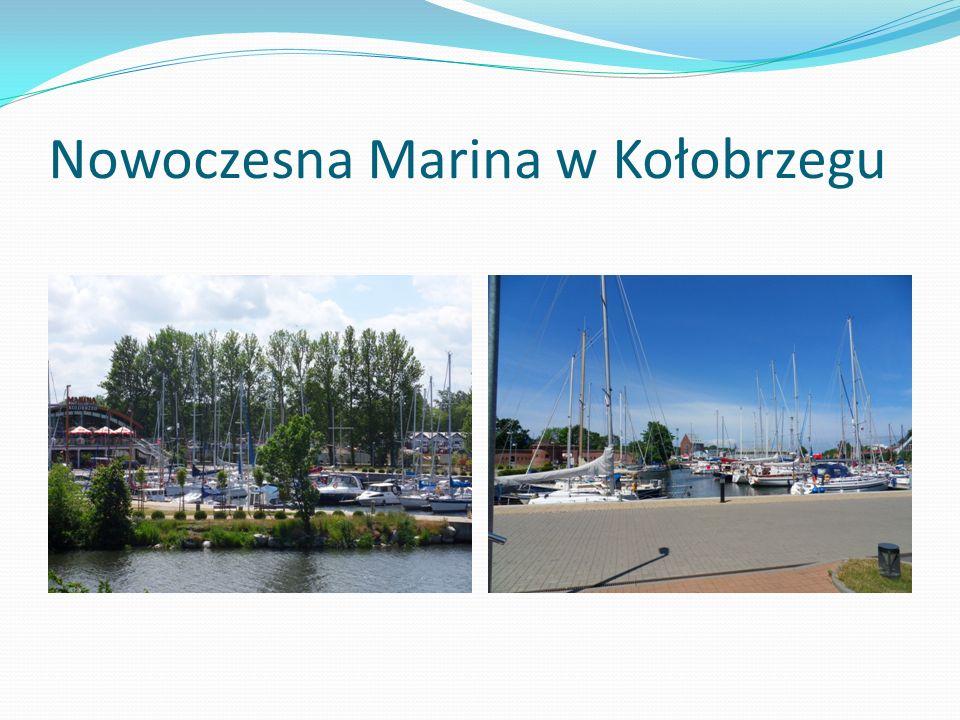 Nowoczesna Marina w Kołobrzegu