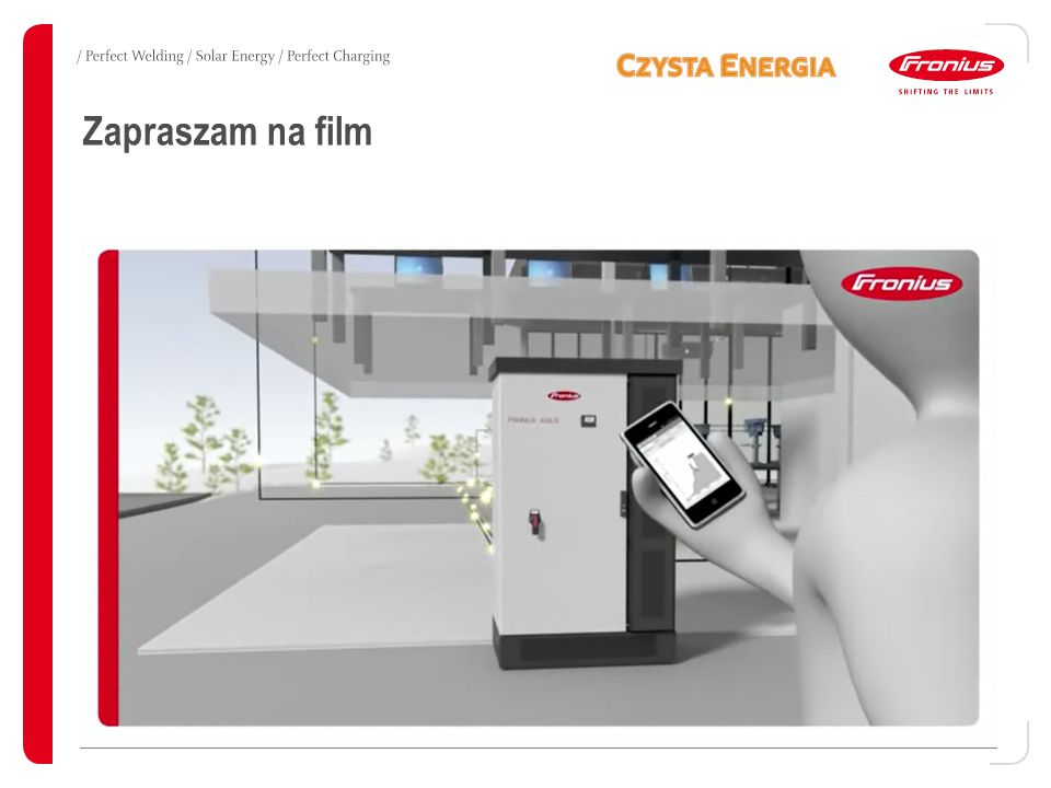 Monitorowanie / Solar.Web → Dostęp z dowolnego komputera z dostępem do Internetu FRONIUS ENERGY PACKAGE 20 Fronius International / Technical Support / Fronius PV Storage Solutions / 24.07.2014 - v07