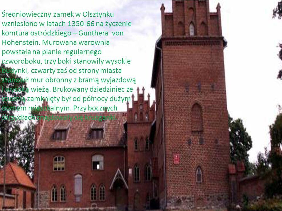 Pierwszy drewniany zamek w Nidzicy postał około roku 1266 i był on podporządkowany komturowi w Ostródzie.