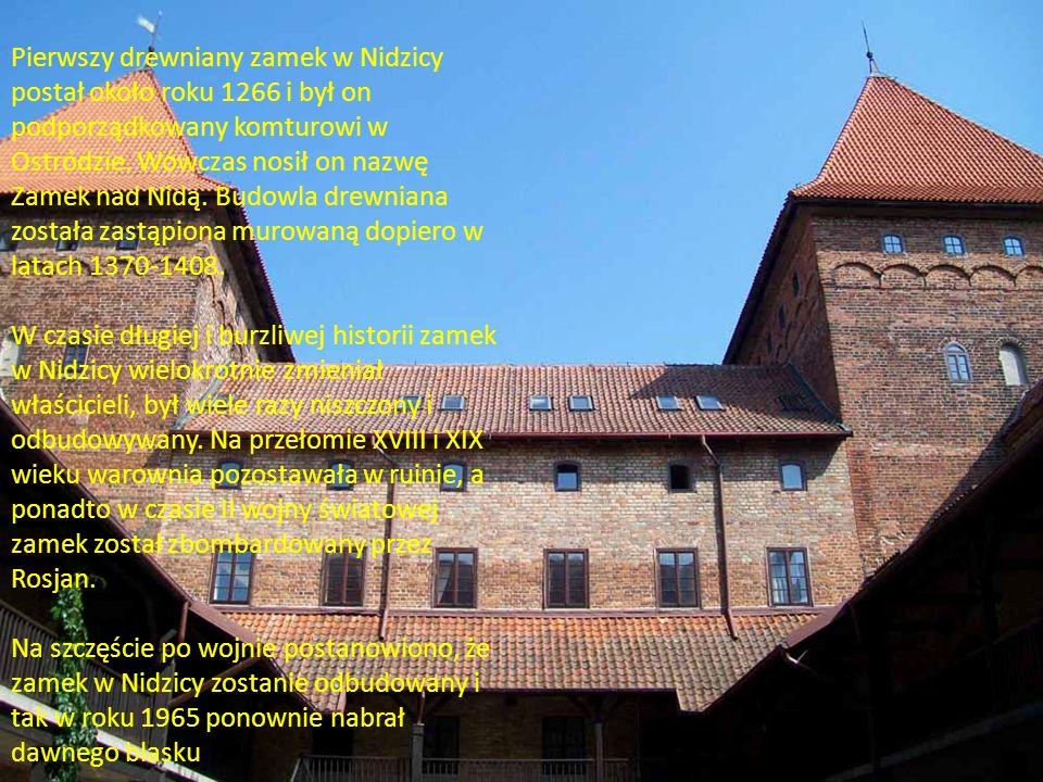 murowanego sięgają I połowy XIII wieku, kiedy to miasto należało do biskupa misyjnego w Prusach - Św.