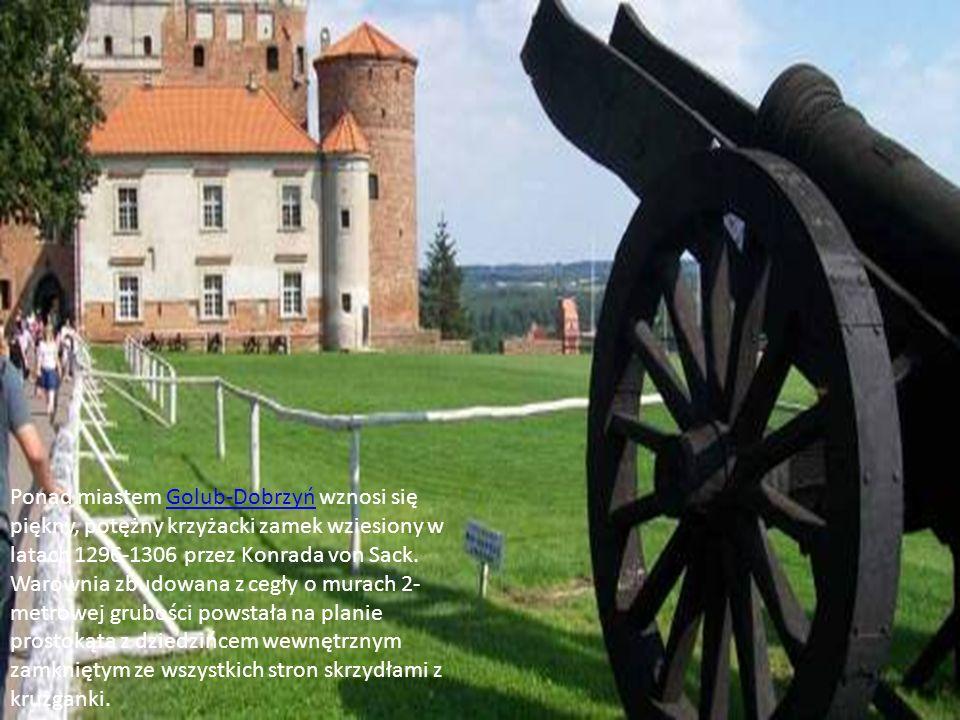 W niewielkiej miejscowości Zamek Bierzgłowski koło Bierzgłowa znajduje się gotycki zamek - jedna z najstarszych obronnych budowli krzyżackich z XIII wieku.Bierzgłowa