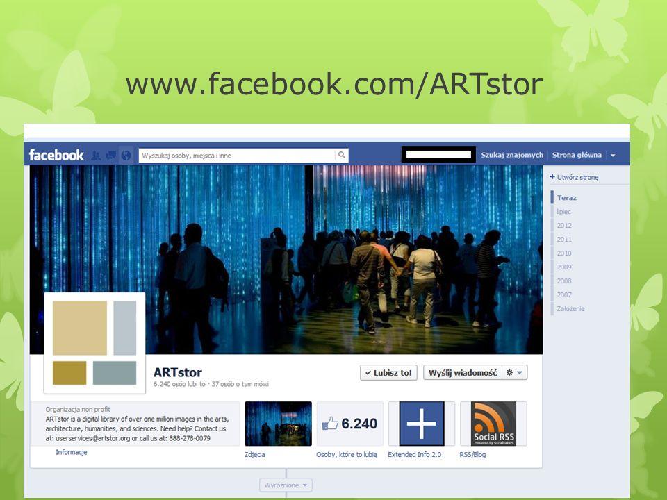www.facebook.com/ARTstor