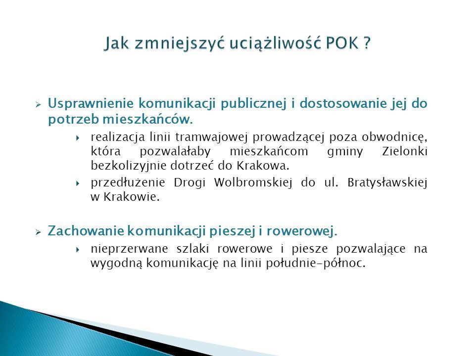  Usprawnienie komunikacji publicznej i dostosowanie jej do potrzeb mieszkańców.