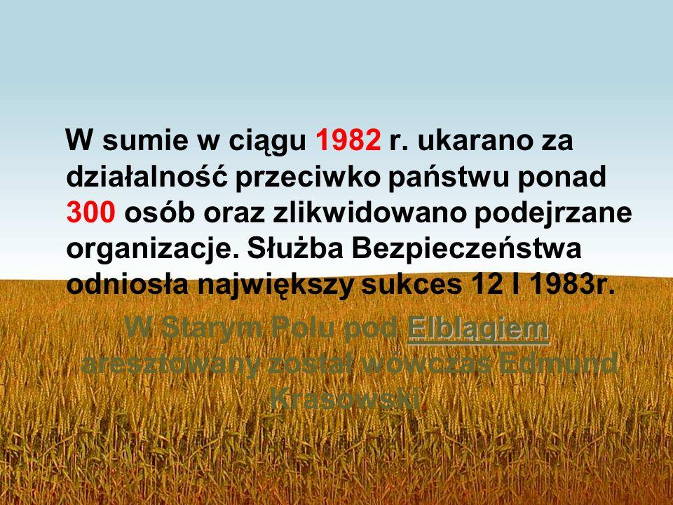 W sumie w ciągu 1982 r.
