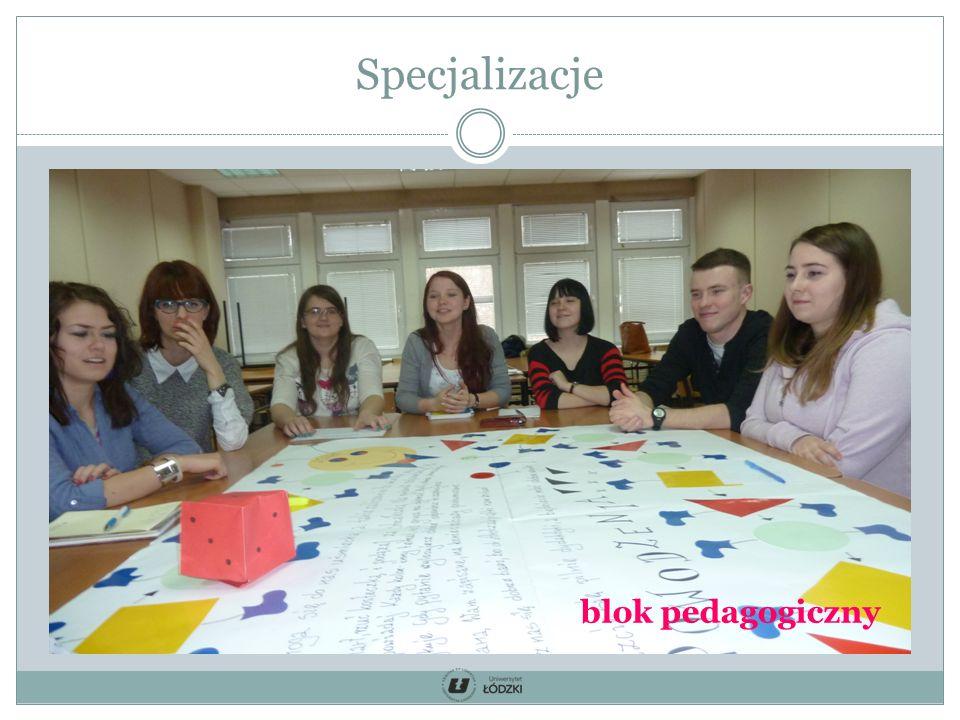 Specjalizacje blok pedagogiczny