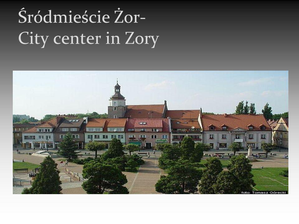 Śródmieście Żor- City center in Zory