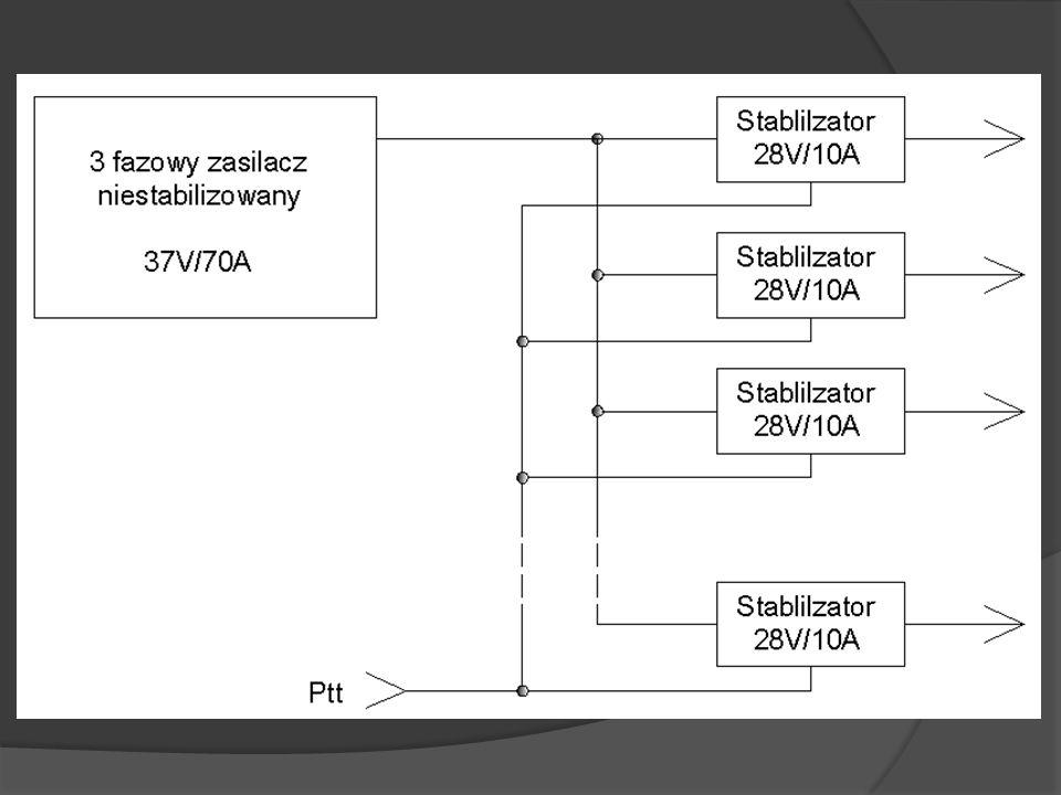 Uproszczony schemat wzmacniacza Układ zasilania tranzystora