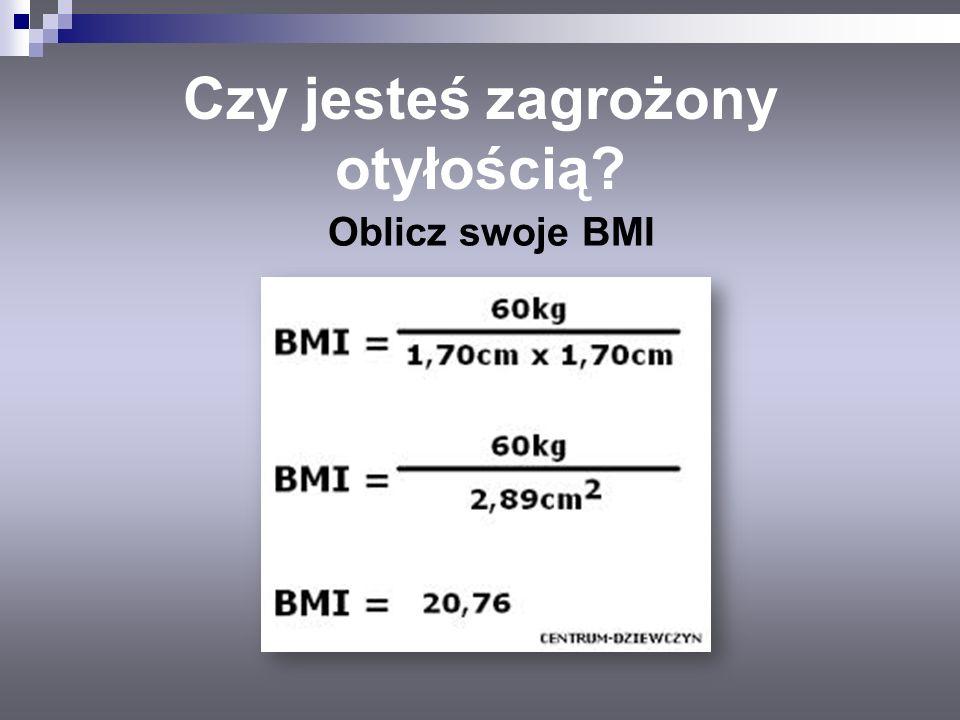 Czy jesteś zagrożony otyłością? Oblicz swoje BMI