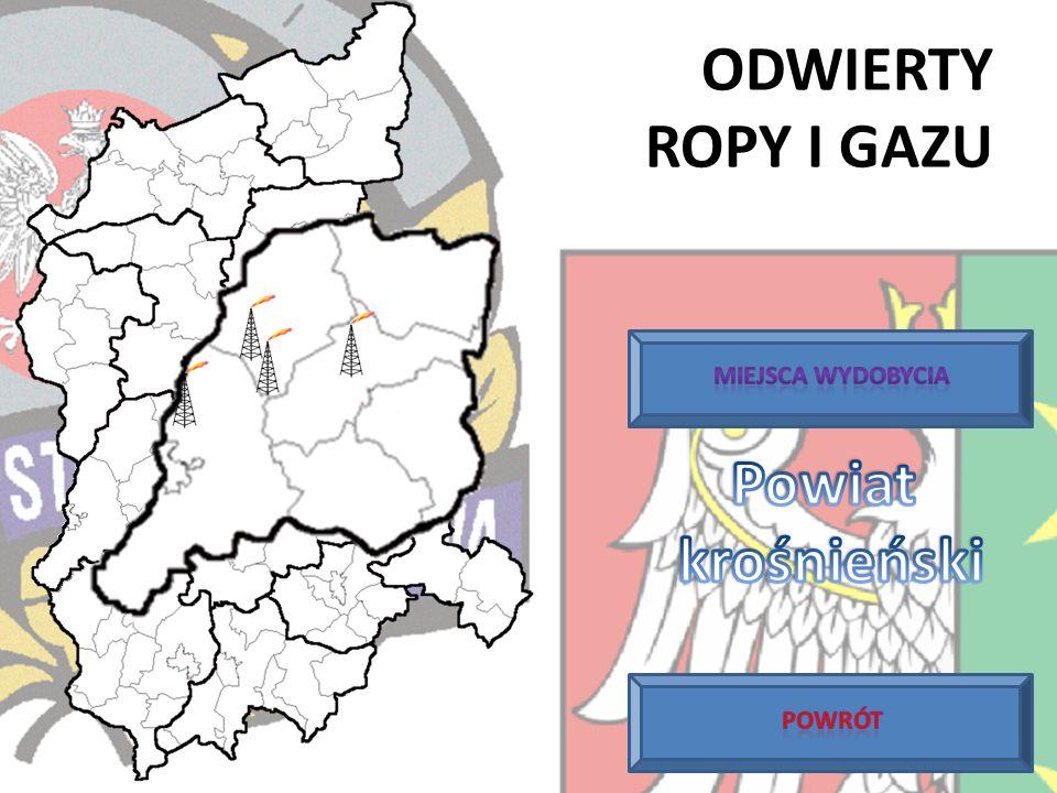 Proszę wybrać powiat na mapie