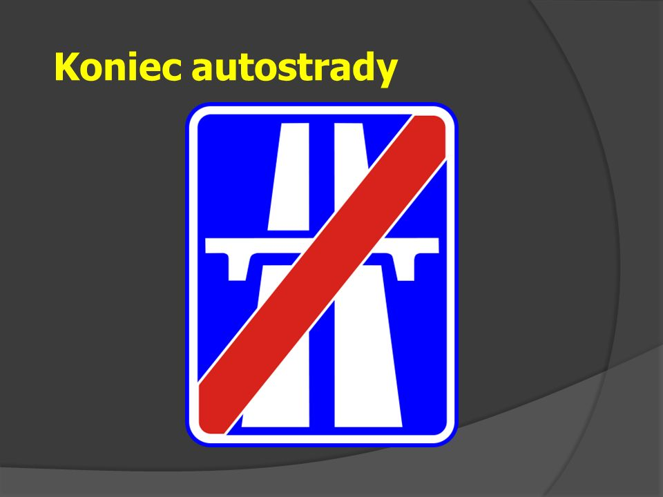 Koniec autostrady