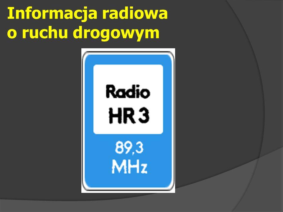 Informacja radiowa o ruchu drogowym