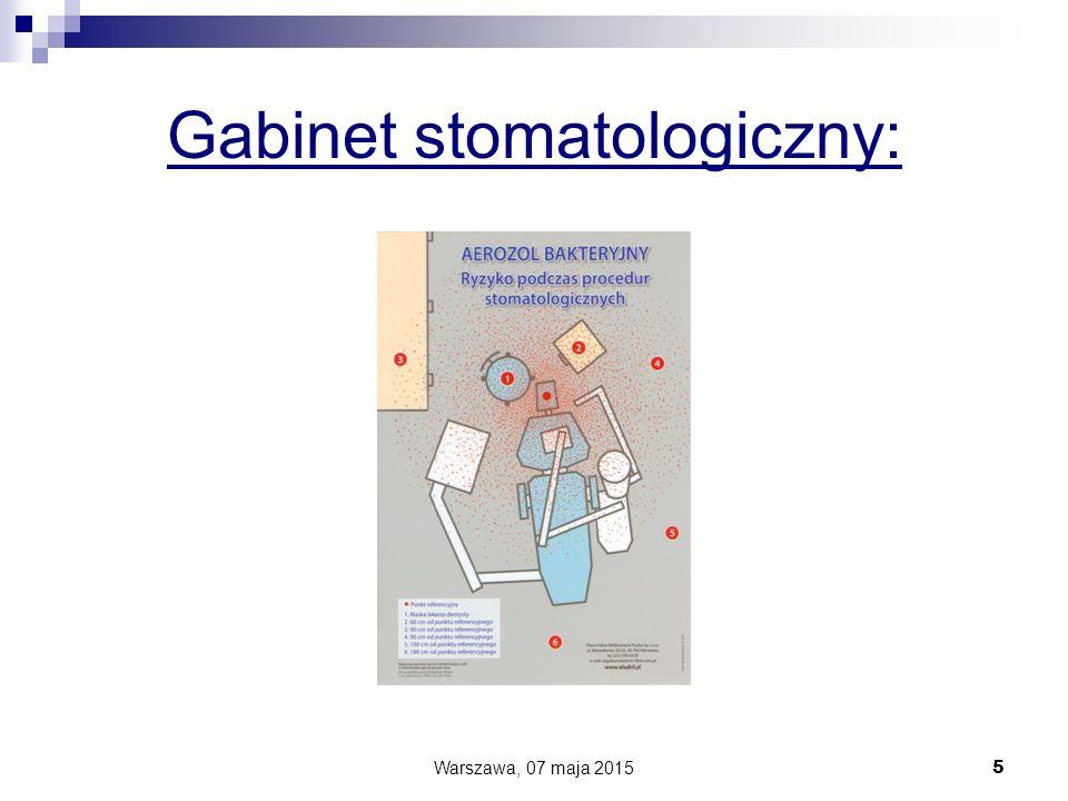 Gabinet stomatologiczny: Warszawa, 07 maja 2015 5
