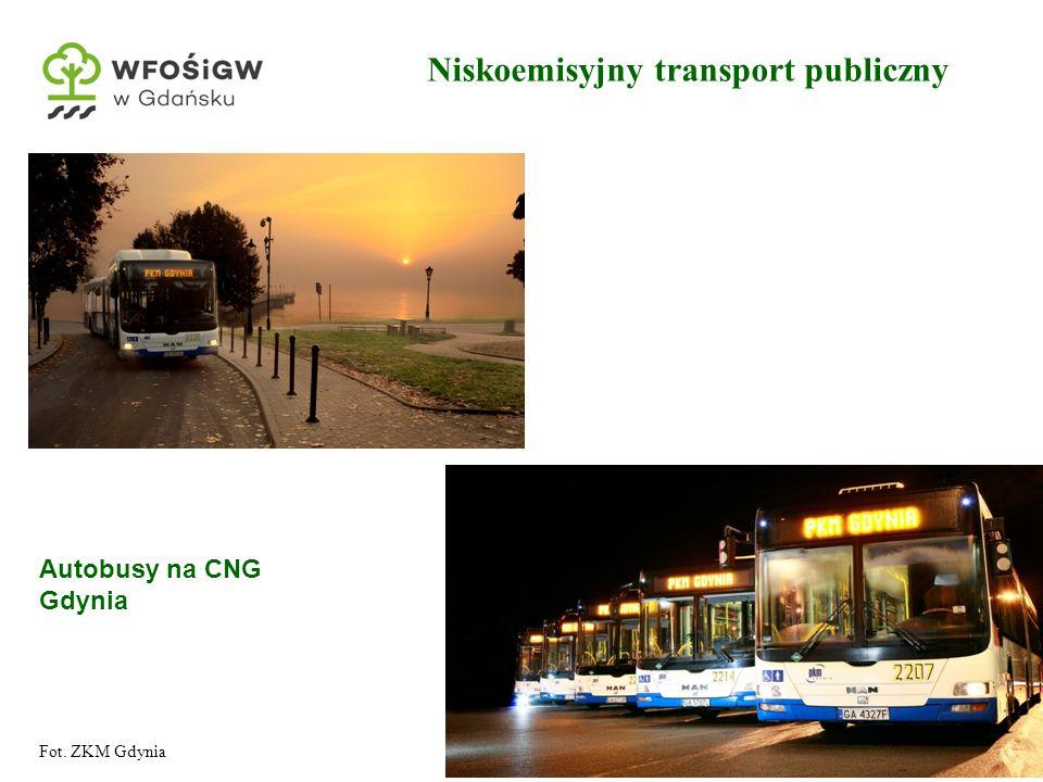 11 Niskoemisyjny transport publiczny Autobusy na CNG Gdynia Fot. ZKM Gdynia