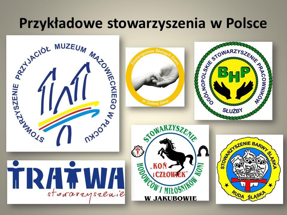 Stowarzyszenie a partia Stowarzyszenie jest to organizacja społeczna powołana przez grupę osób mających wspólne cele lub zainteresowania natomiast partia polityczna to organizacja społeczna o określonym programie politycznym, mająca na celu jego realizacje poprzez zdobycie i sprawowanie władzy lub wywieranie na nią wpływu.