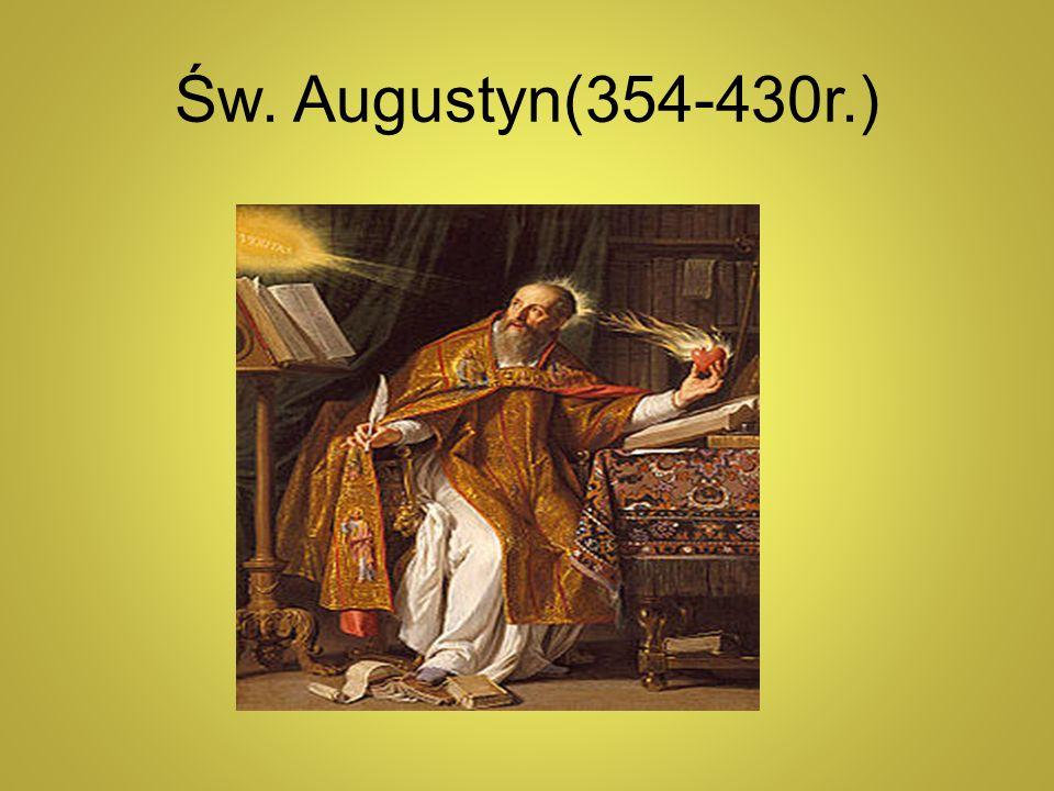 Św. Augustyn(354-430r.)