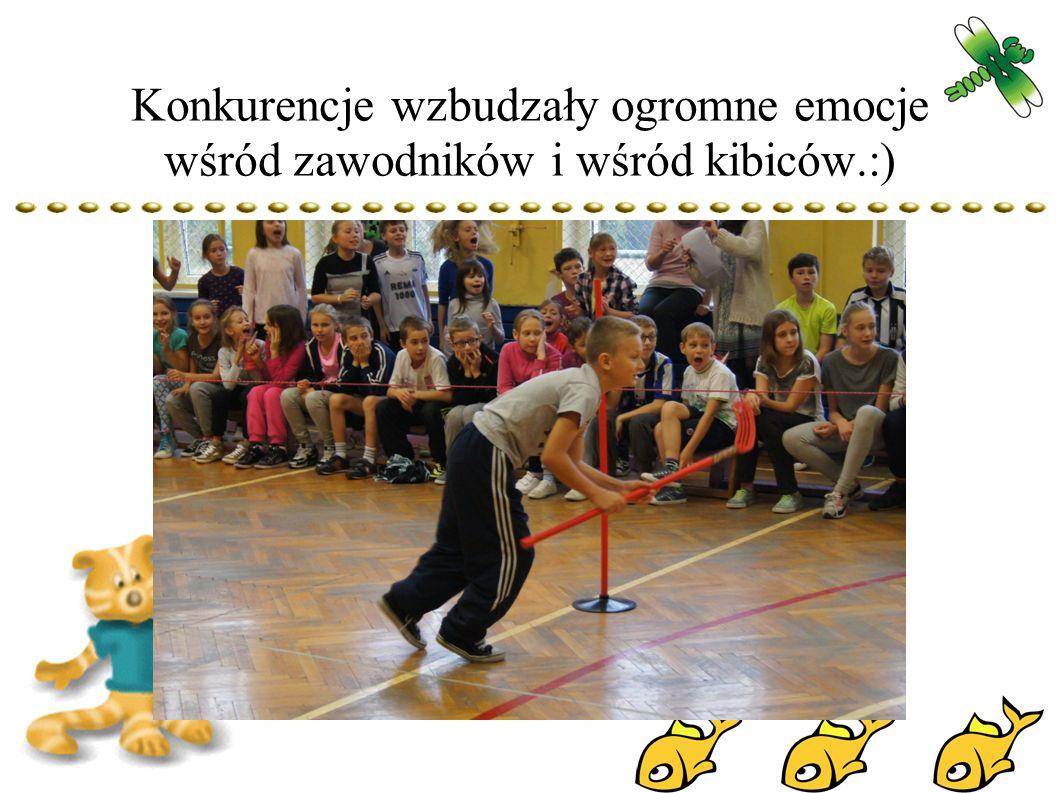Konkurencje wzbudzały ogromne emocje wśród zawodników i wśród kibiców.:)