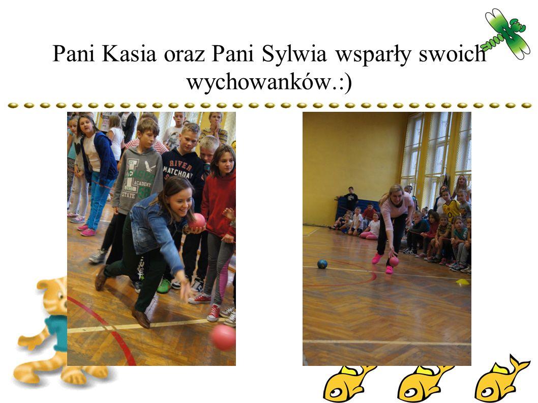 Pani Kasia oraz Pani Sylwia wsparły swoich wychowanków.:)
