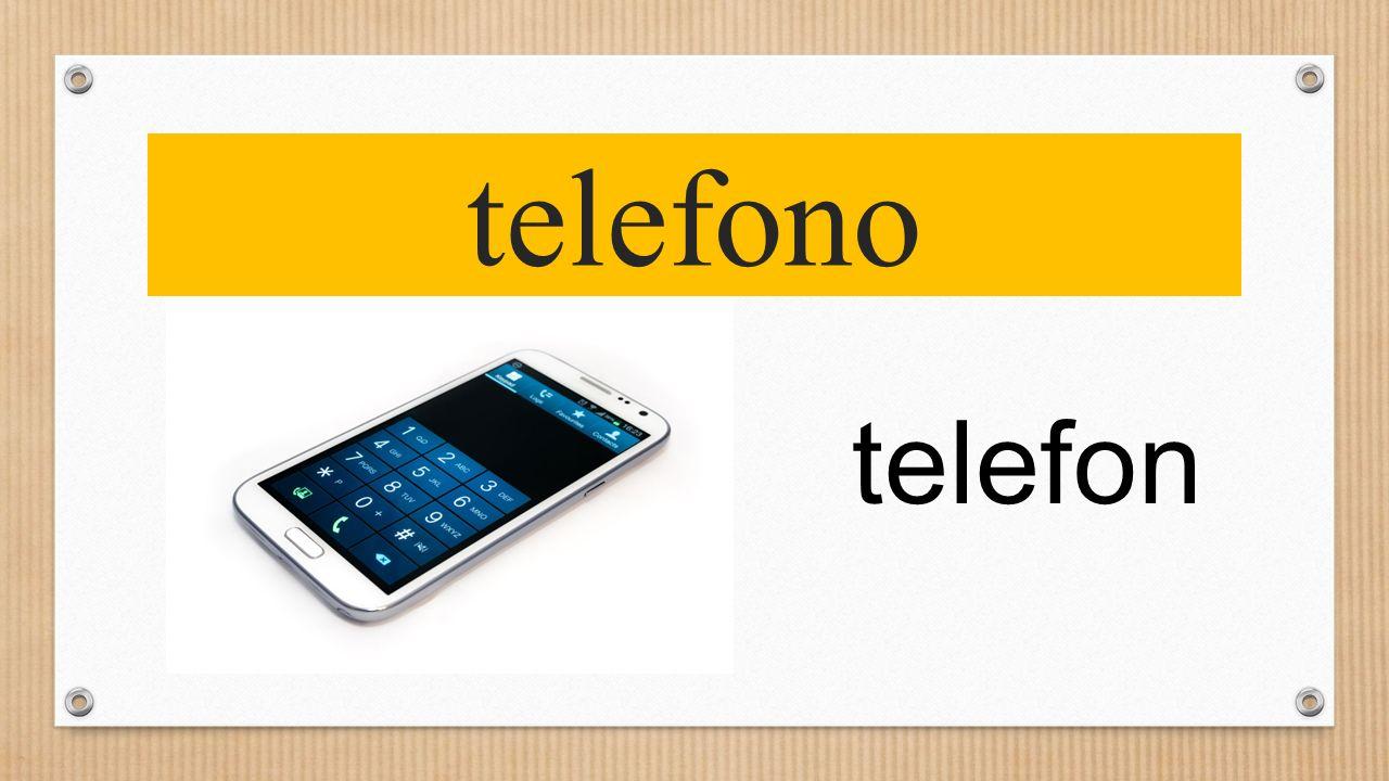 telefono telefon